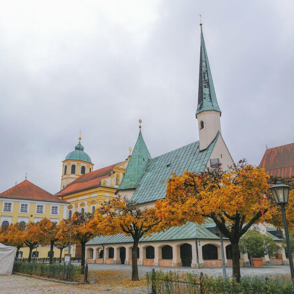 Bilder aus Alt Ötting. Foto von Moritz Plambeck
