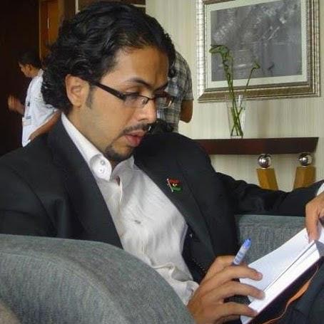 Der Schriftsteller und Journalist Salah Ngab. Foto: Salah Ngab