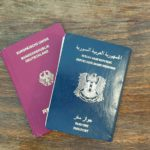Deutscher und syrischer Pass