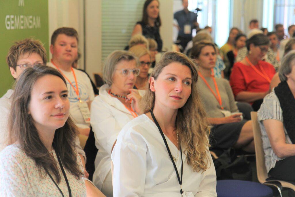 Teilnehmer des Barcamps Foto: Sophie Martin