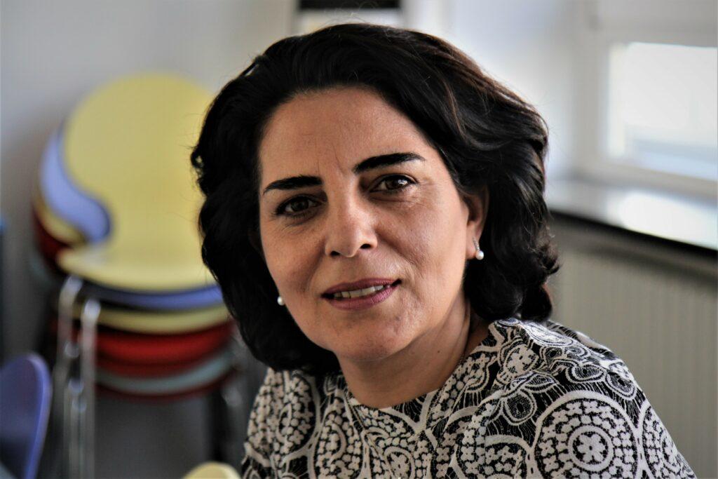Abir Abdulnour. Foto Sophie Martin.