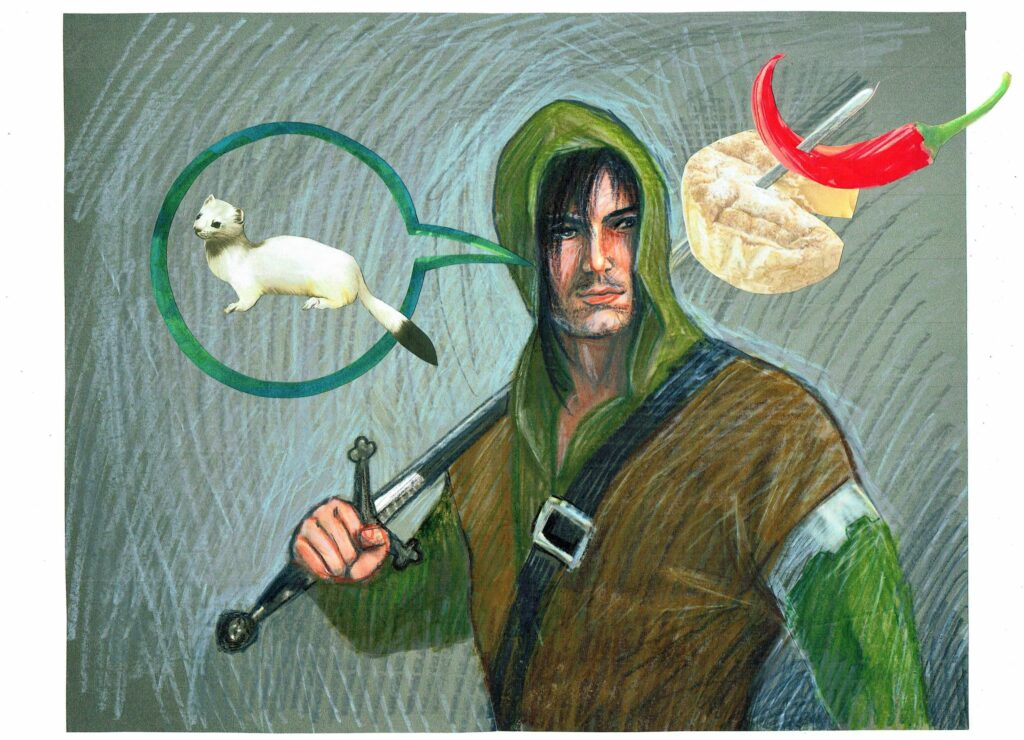 Hermelin Käse. Bild von Eugenia Loginova.