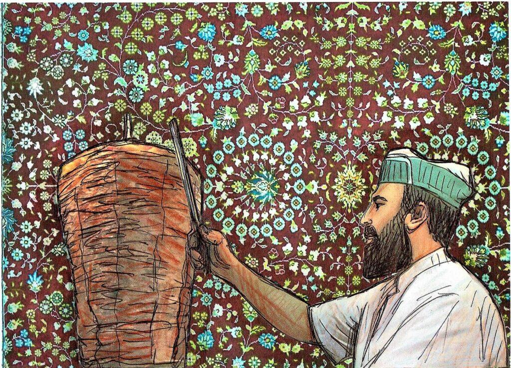 Shawarma. Bild von: Eugenia Loginova