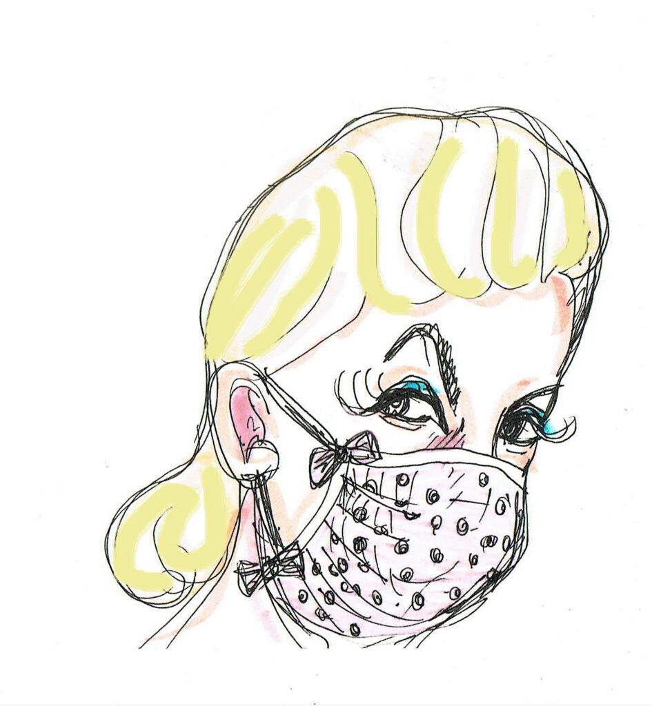 Friseurbesuch. Zeichnungen: Eugenia Loginova