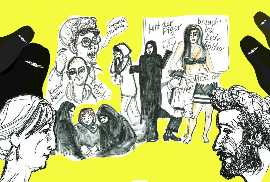 Zeichnungen: Eugenia Loginova