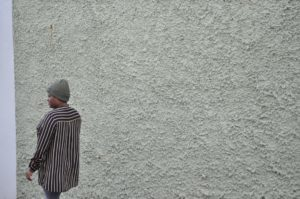 """Wir laufen weg vor dem Voodoo."" - Aisha Mustafa (Foto: Tobias Hecker)"