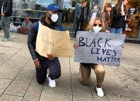 Demostration gegen Rassismus in Hamburg. Foto: Hussam Al Zaher.