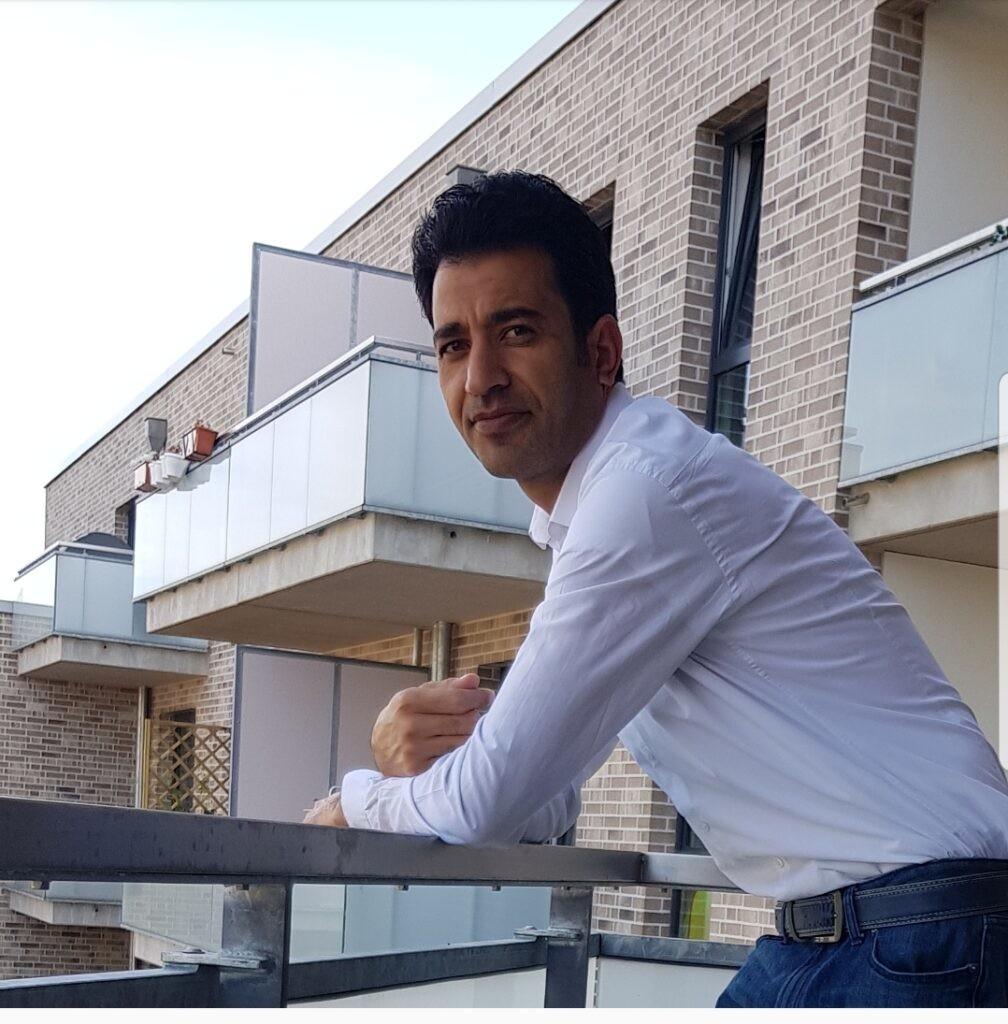 Ishaq Quraishi. Ein Afghaner mit Fluchterfahrung