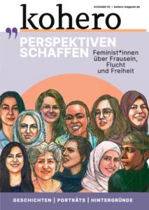 Cover des Printmagazins PERSPEKTIVEN SCHAFFEN