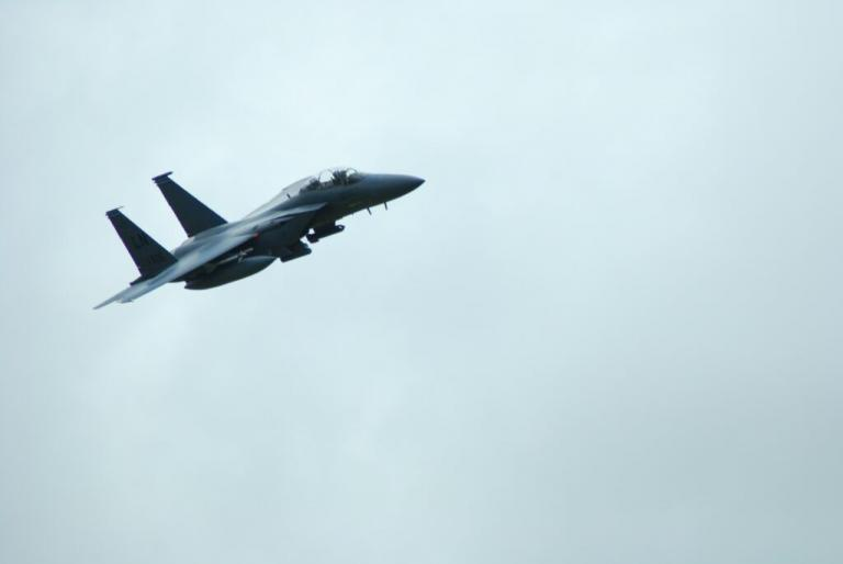 Das Kampfflugzeug kam - und dann, ich starb