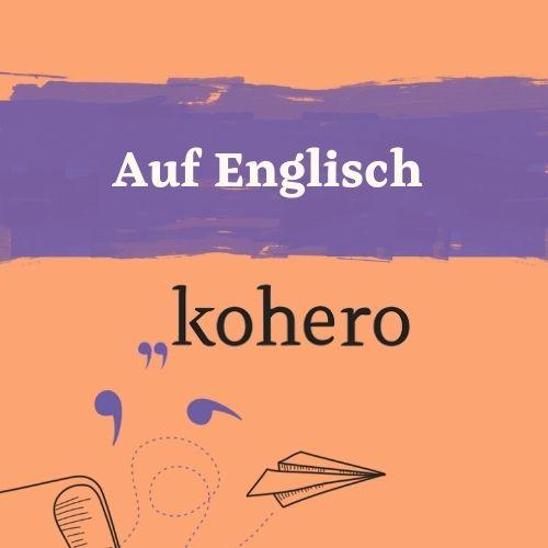 Auf Englisch