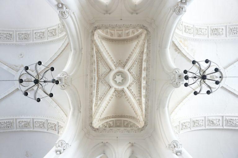 Decke der Synagoge in Grodno