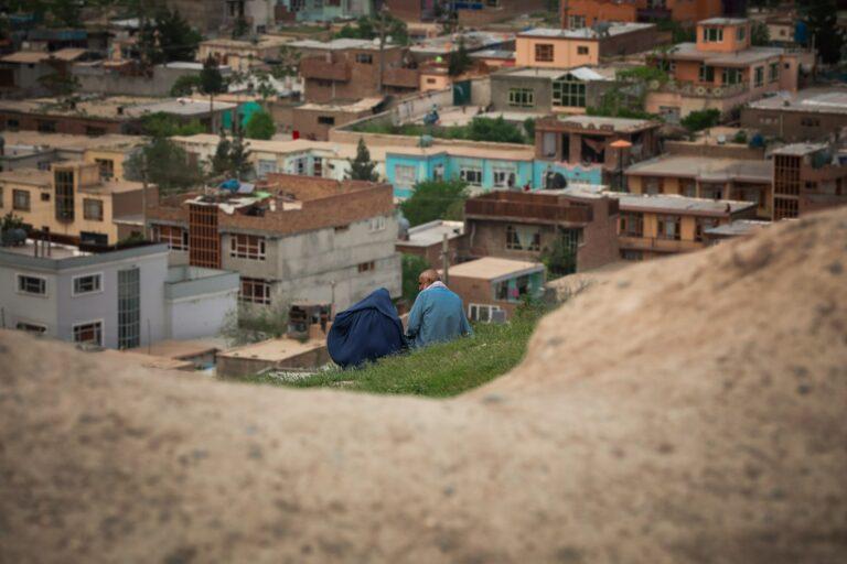 Häuser in Kabul, Afghanistan
