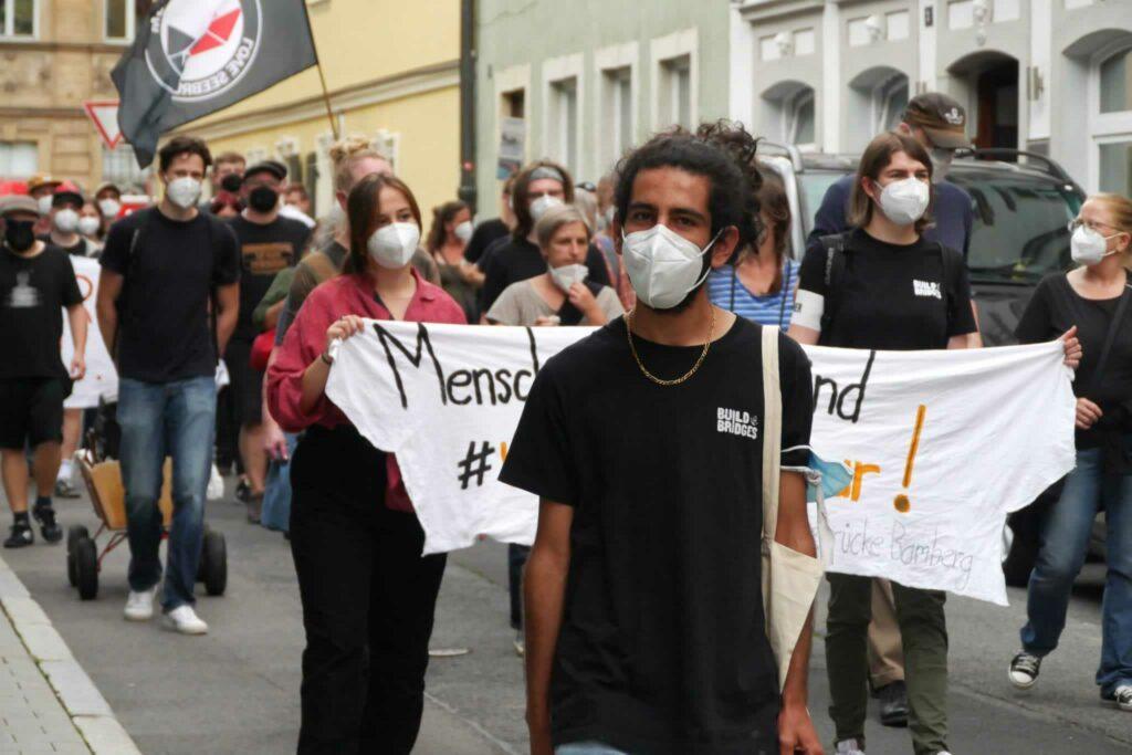 Ibo demonstriert für Klimagerechtigkeit