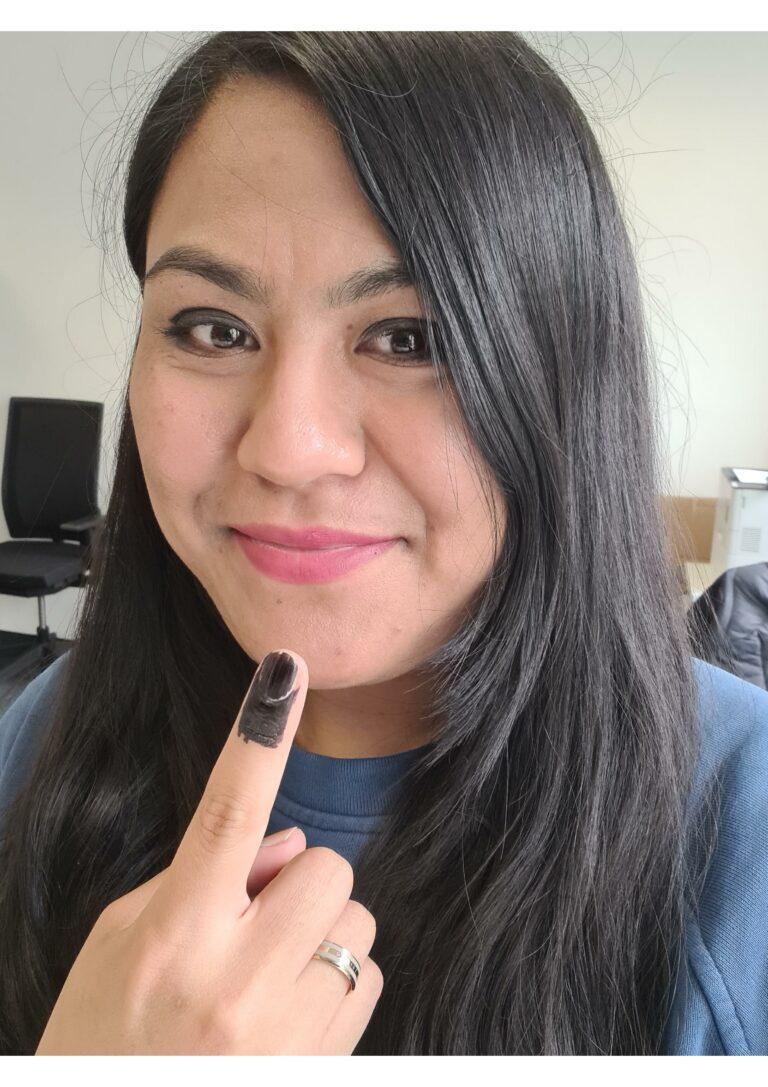 Sahar Reza: Wählen und ich